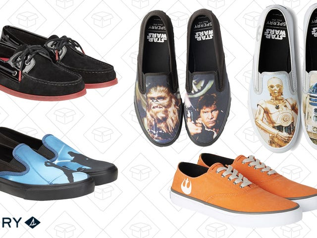 Become One With The Force And Pick Up a Pair of Sperry's Star Wars Shoes