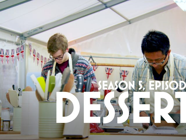 Sue and the bakers up their game as The Great British Baking Show takes on dessert