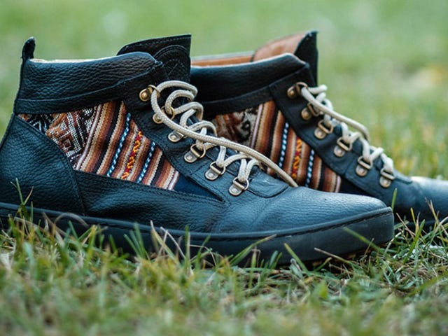 Save 20% On A Pair Of Inkkas: Handmade Travel-Inspired Sneakers (From $63)