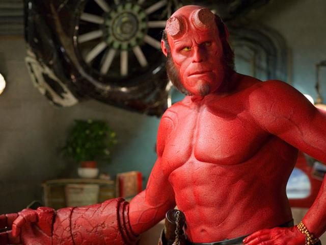 Guillermo del Toro kjempet for år for å få Ron Perlman som Hellboy