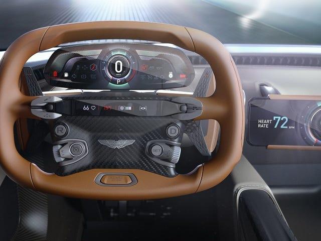 El nuevo superdeportivo de Aston Martin no tiene pantalla en el tablero: usa tu smartphone en su lugar
