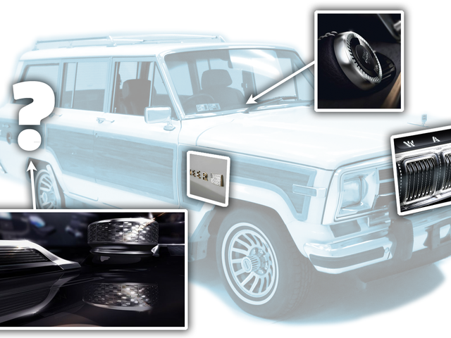 Jeep Keeps Teasing The New Grand Wagoneer With More Little Detail Snapshots And Now Has A Reveal Date