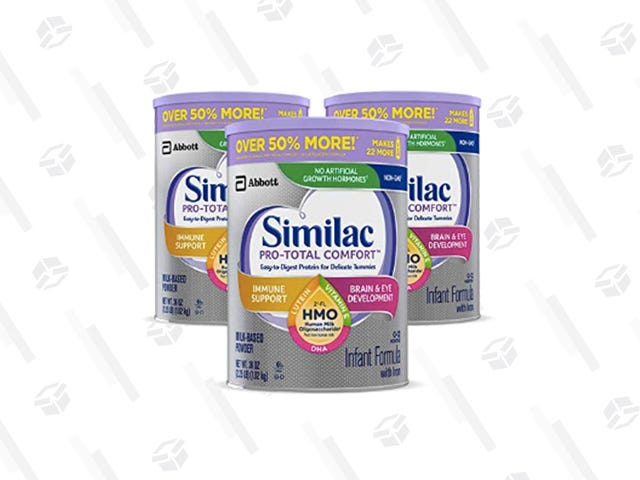 Get 40% Off Your First Order of Similac Pro-Total Comfort Infant Formula