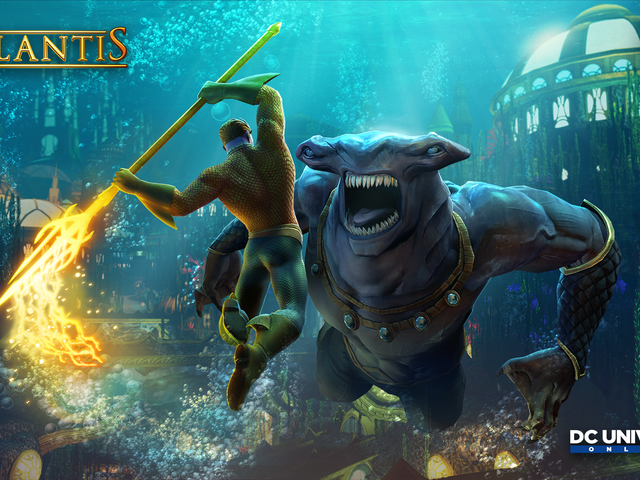 DC Universe Online's Atlantis Update Takes Players Under The Sea