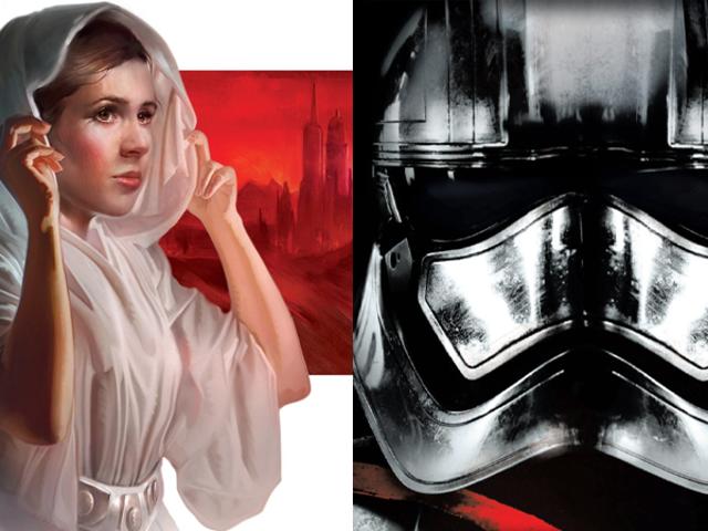 Los detalles más importantes de los nuevos libros de <i>Star Wars</i> sobre la princesa Leia y el capitán Phasma