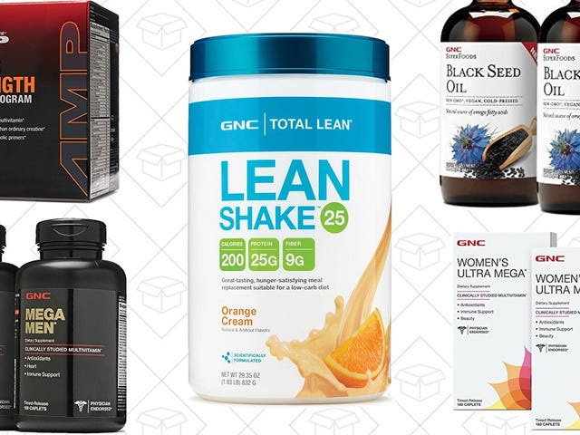 Do Something Nice For Your Body With This Wide-Ranging GNC Sale