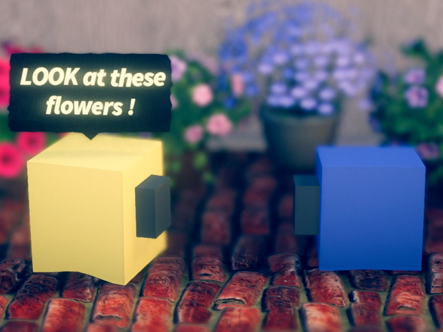 A Surreal Multiplayer Game About Sentient Cubes