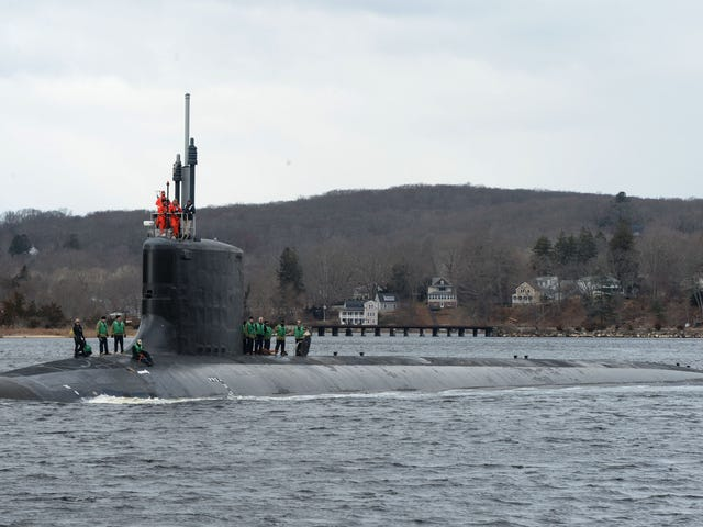 The U.S. Navy's Next Submarines Will Be Drone-Carrying Super Special Forces Boats