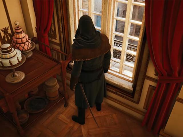 <i>Assassin's Creed Unity</i> 케이크 이스터 에그 <i>Assassin's Creed Unity</i> 신비