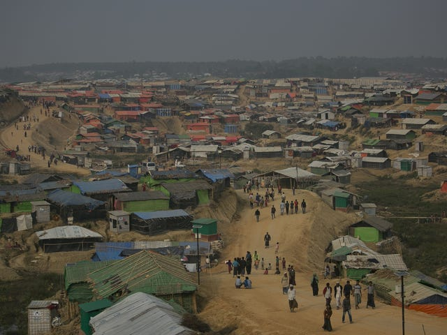 Monsoon Rains Are Already a Disaster For Rohingya Refugee Camps