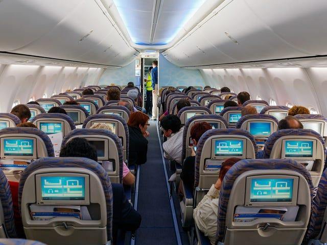 Du trenger aldri å bytte seter på en flytur