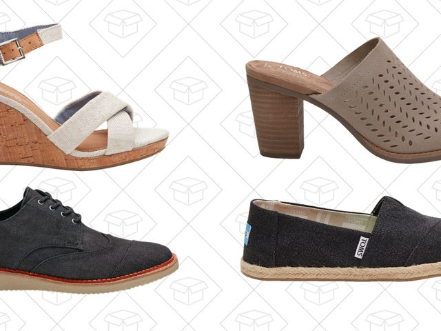 Step Into Fall With an Extra 25% Off TOMS Shoes and Accessories