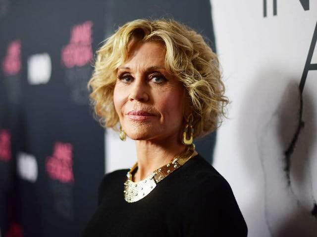 Jane Fonda to Whiny Harassers Who Lose Their Job: 'Sweep the Floor at Starbucks Until You Learn'