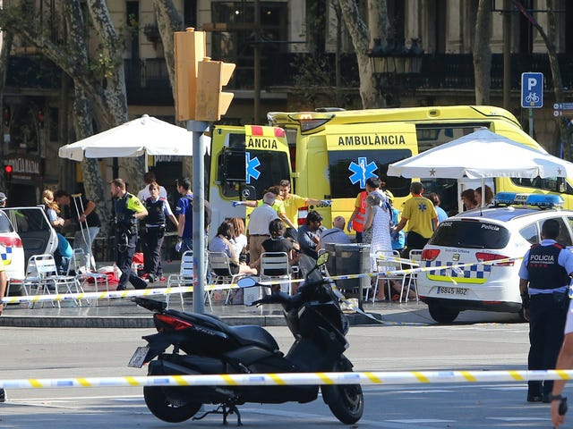 Van Drives Into Crowd At Popular Tourist Site In Barcelona, Killing 13 (Updated)