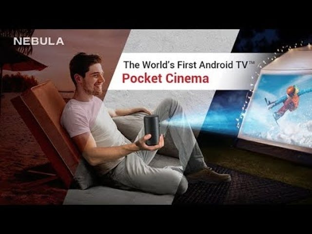 Borgmester brillo, borgmester nitidez y más inteligente: Reserva el proyector Anker Nebula Kapsel II og $ 100