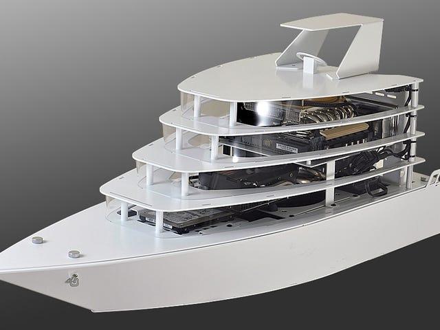 Máy tính cá nhân Tricked-Out tiếp theo xứng đáng với một chiếc du thuyền có hình dáng sang trọng