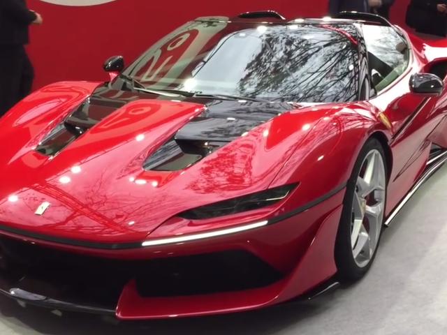 Den Drop-Dead Gorgeous Ferrari J50 er 488 Verden fortjener