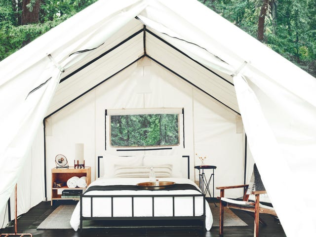 Hier is waar je moet kamperen als je eigenlijk een camping huurt, maar liefhebben van de natuur
