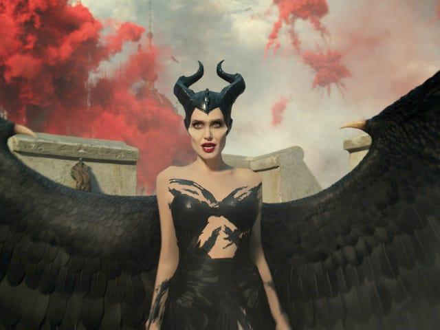 Angelina Jolie er mindre Mistress Of Evil end en-linjers maskine i en anden mildt revisionist Maleficent