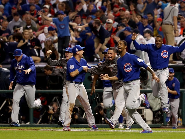 Chicago Cubs Break Curse, Win World Series in Strangest Game 7 Ever
