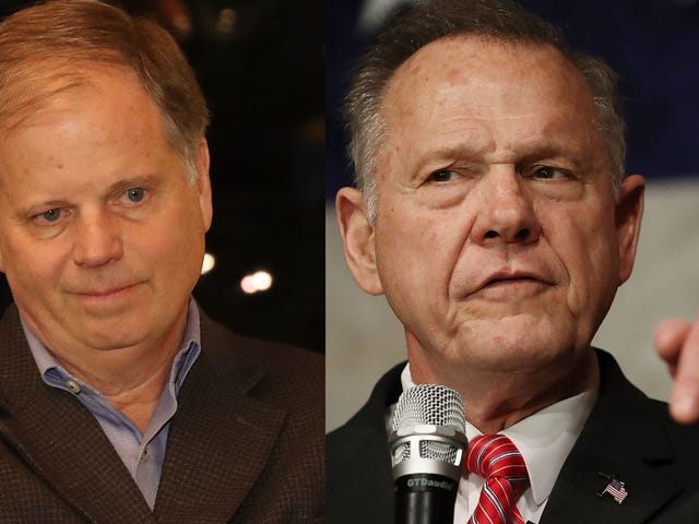 Roy Moore vs. Doug Jones Has Nothing to Do With Little Girls; It's About White Supremacy