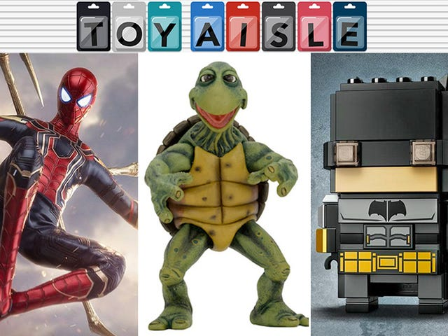 Adorable Teenage Mutant Ninja Turtles Figures, and More of the Most Totally Radical Toys of the Week