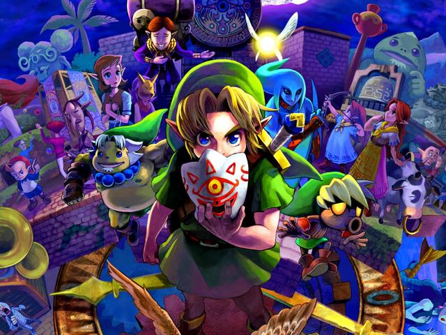 プレイヤーはマジョラのマスクのスピードランニングの聖杯を見つける