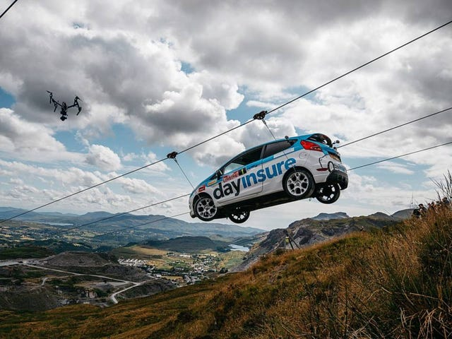 Rally round, this car flies high