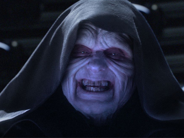 Emperor Palpatine has a new first name, and it is RIDICULOUS