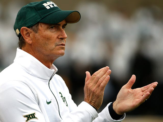 Art Briles's Career In The CFL Lasted Less Than 24 Hours