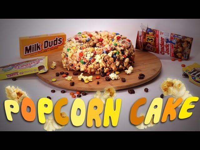 """Przeprojektuj dowolny """"ekstra"""" Halloweenowy Cukierek W Pyszne Ciasto Popcorn"""