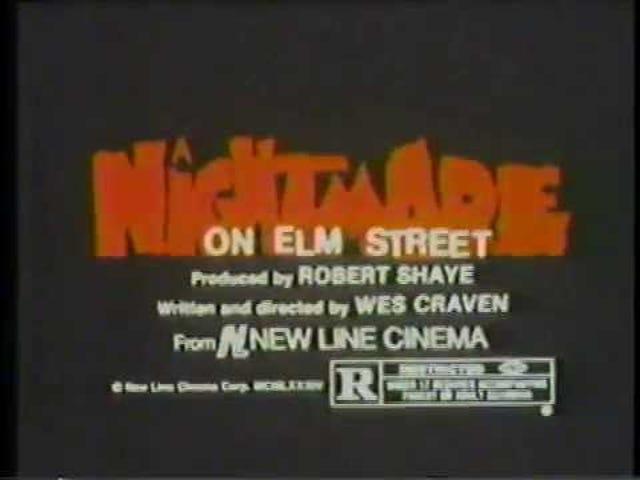 Кошмар на вулиці в'язів (1984)