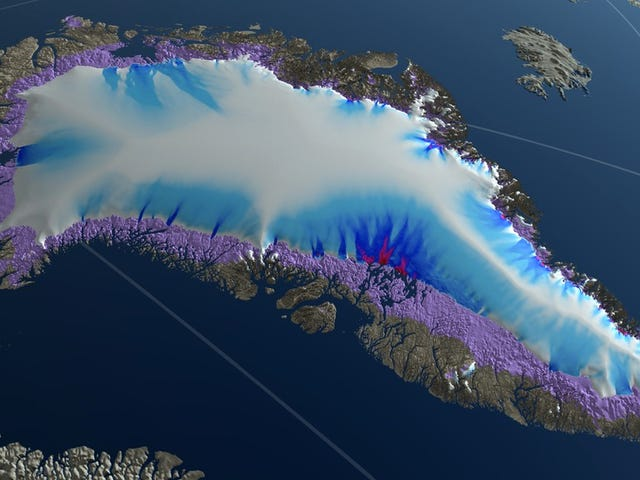 Study Warns We Could Melt the Entire Greenland Ice Sheet if We Don't Change Course