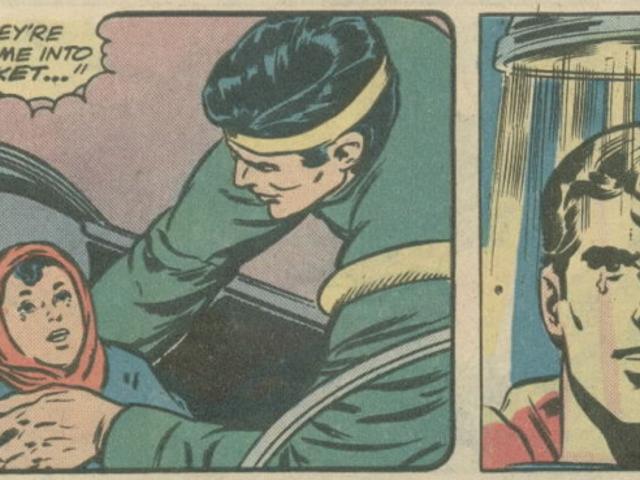 외로운 수퍼맨이되어야하는 방법을 깨닫게 해주는 이야기 <em></em>