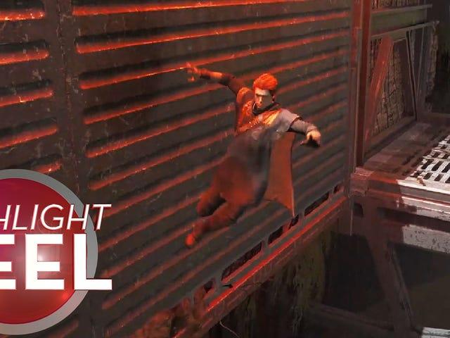 Jedi: Fallen Order Glitch Creates Force Ballerina