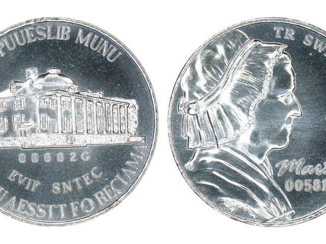 Es kostet sieben Cent, um ein Nickel zu machen, also hatte die US-Münze einen Computer, der billigere Münzen simuliert