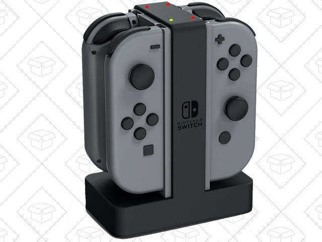 Top Off Your Joy-Con With This Charging Dock, Now Cheaper Than Ever