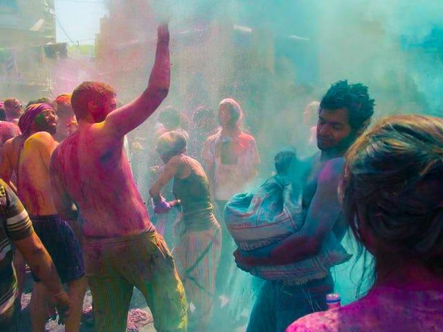 Holi: India's meest kleurrijke festival