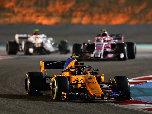 ESPN Will Air Formula One With No Commercials For All Of 2018