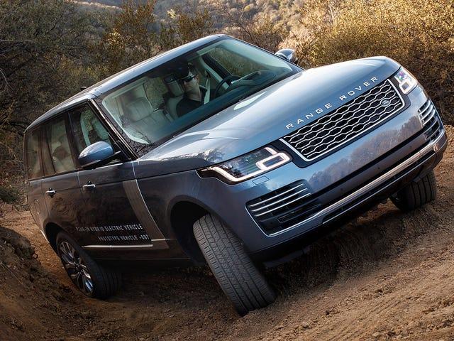 El todoterreno autónomo de Land Rover podría resolver realmente un gran problema para los autos de conducción automática