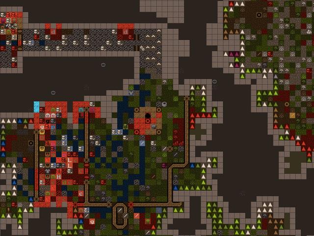 Oma Dwarf Fortress kääpiöiden tekemä satunnaisesti tuotettu taide on kauheaa
