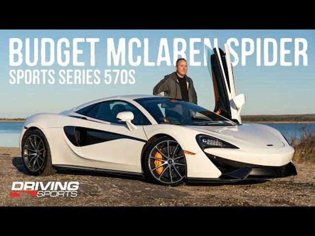 Pagmamaneho ng Budget McLaren 570s Spider
