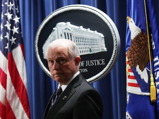 Attorney General Jeff Sessions Just Launched an *Insert Racist Dog Whistle* Christian Task Force