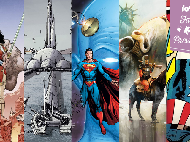 The Many, Many, Many New Comic Book Series Coming This Fall