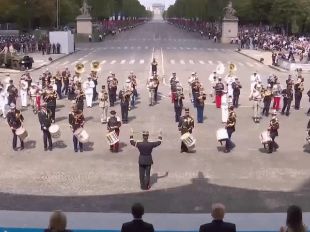 The French Army Just Celebrated Bastille Day By Playing A Daft Punk Medley