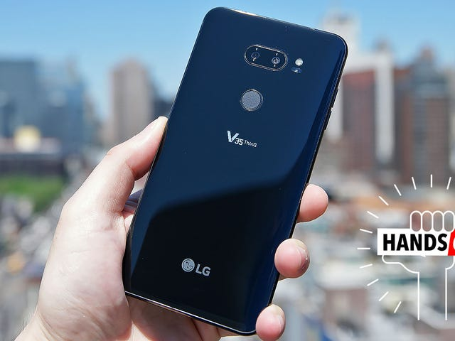 LG Is Stealing Its Own Thunder With the V35