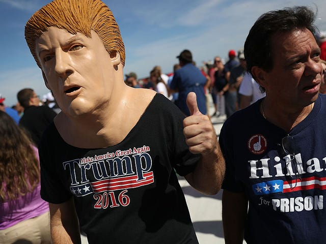 Trump Cosplay Just Keeps Getting Weirder