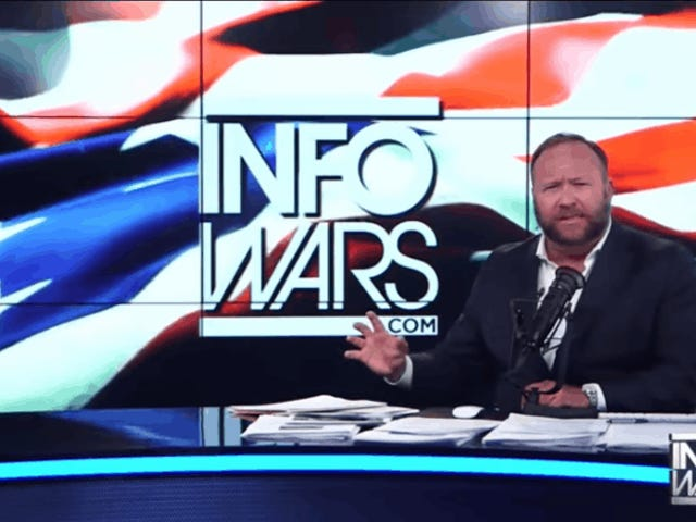 Apple Bans Most InfoWars Podcasts Over Hate Speech