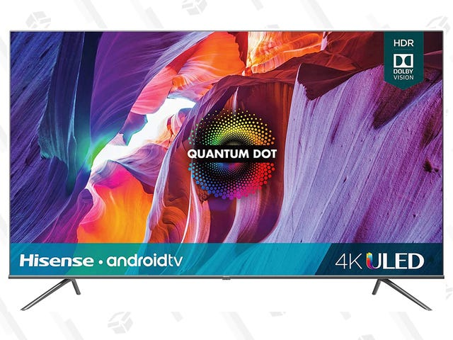 Hisense's Quantum Dot TVs Are up to $200 Off