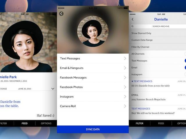 Shryne для iPhone дозволяє завантажувати та архівувати власну соціальну історію